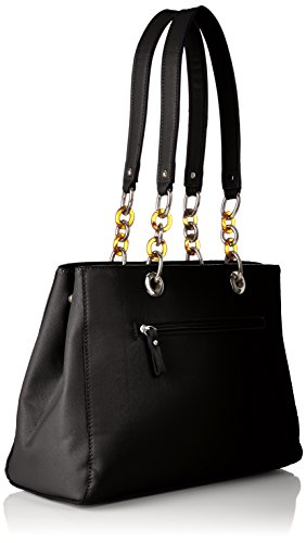 Tamaris Damen Rania Shoulder Bag Schultertasche, 14x25x34,5 cm Schwarz (Black)