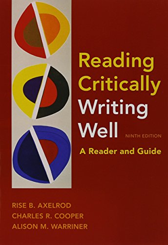 Download reading critically writing well 9e commonsense guide to download reading critically writing well 9e commonsense guide to grammar and usage 6e book pdf audio idwou9s7l fandeluxe Image collections