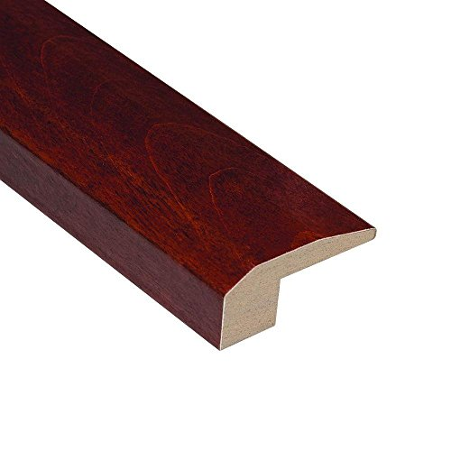 (Home Legend Birch Cherry 2 1/8 In. W x 78 In. L Carpet Reducer 5-Ply Plank Molding)