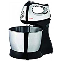 Hand Mixer 7 speed With Bowl &4 stainless steal hooks&whisks-