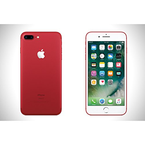 Apple iPhone 7 Plus 128GB (Factory Unlocked) 5.5-inch 12MP Smartphone - International Version RED, GSM ONLY, NO CDMA, No warranty in the US. A1784 Model