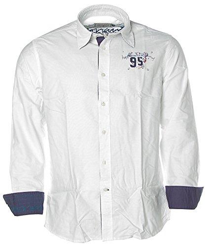 ARQUEONAUTAS - Camisa casual - Manga Larga - para hombre blanco