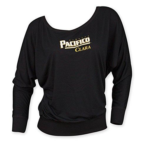 pacifico-womens-long-sleeve-shirt-x-large-black