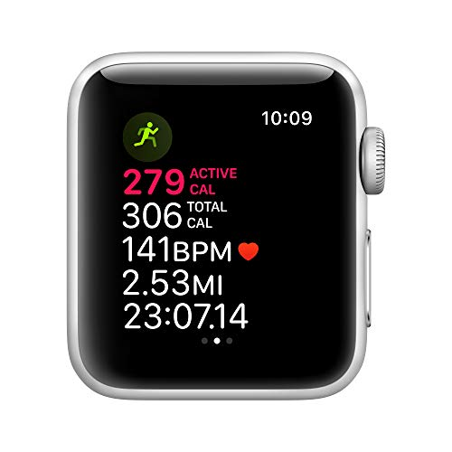 Apple Watch Series 3 (GPS, 38mm) - Silver Aluminum Case with White Sport Band 4