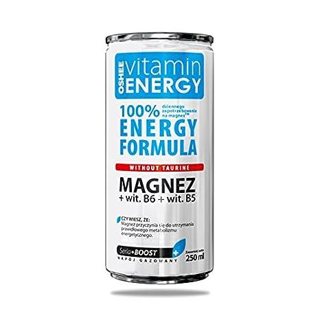 OSHEE VITAMIN ENERGY BEBIDA ENERGETICA ANTIESTRES Y RELAJANTE: Amazon.es: Electrónica