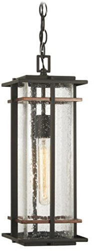 Minka Lavery Outdoor Pendant Lighting 72494-68 San Marcos, 1-Light 60 Watts, Black by Minka Lavery