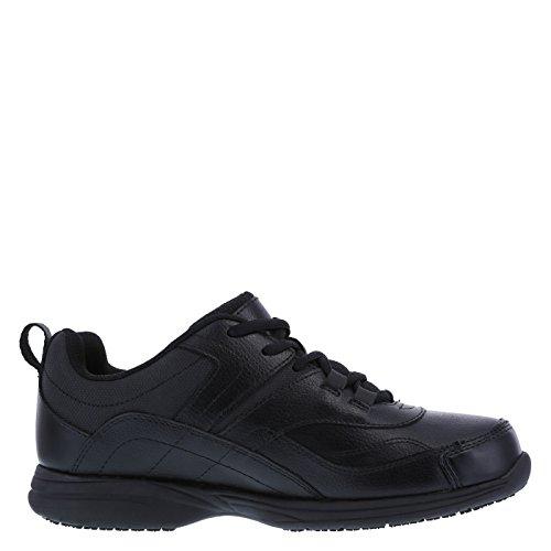 safeTstep Slip Resistant Women's Black Women's Athena Sneaker 9 Regular