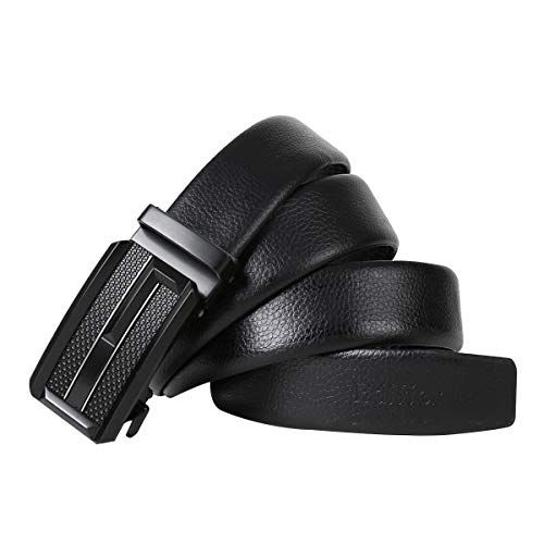 Edifier PU leather (Pack of 1) Adjustable Buckle Belts Fashion Waist Strap BELTS For Casual and Formal – Belt For Men and Boys, color Design For Daily Use