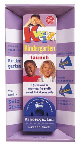 Kwiz Kindergarten Launch Deck (Klutz Kwiz) pdf epub