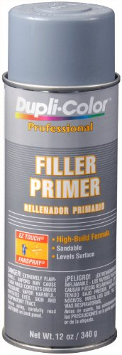 Dupli-Color (EDPP10407-6 PK) Gray Professional Filler Primer - 12 oz. Aerosol, (Case of 6)