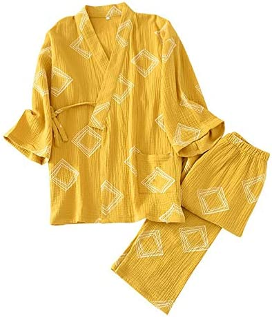 パジャマ 作務衣 メンズ レディース 甚平 浴衣 通年向 綿100% 上下セット 大人系 寝間着 ルームウェア 部屋着 便利服 吸汗速乾 春 秋 夏イベント 男女兼用 伝統 和風