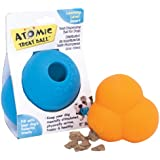 OurPets Atomic Treat Ball Interactive Dog Toy, 5-Inch (Colors Vary)