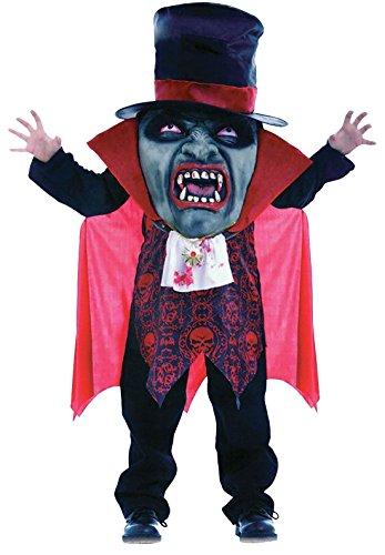 [Kids Halloween Horror Vampire Mad Hatter Child Party Dress Children Costume#(Vampire Mad Hatter Child Costume#Medium(7-9 Years)#Girls/Boys)] (Mad Hatter Girl Costume Uk)