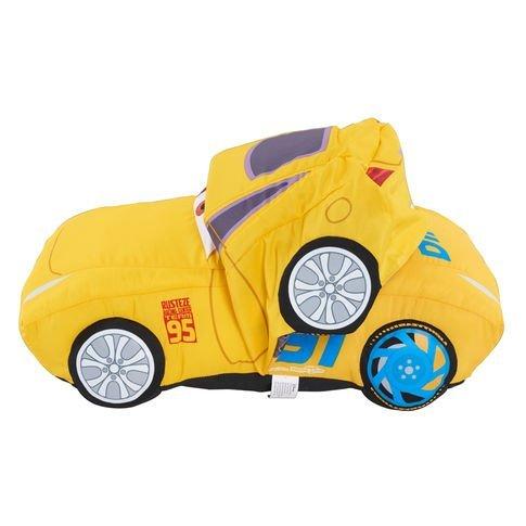Cars Blue Buddies (Disney Pixar Cars 3 Large Transforming Plush Car - Cruz Ramirez)