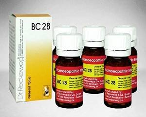 5 x Dr.Reckeweg-Germany Biochemic Combination Tablet BC- 28 Homeopathic Medicine