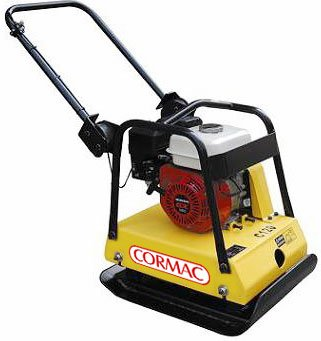 CORMAC-C120-plate-compactor-65-Hp-gasoline-engine