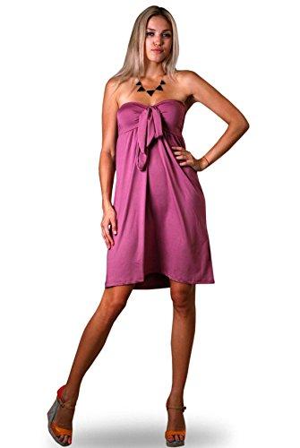 Angela - Vestido - para mujer morado