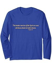 Book of Mormon mercy scripture longsleeve t shirt