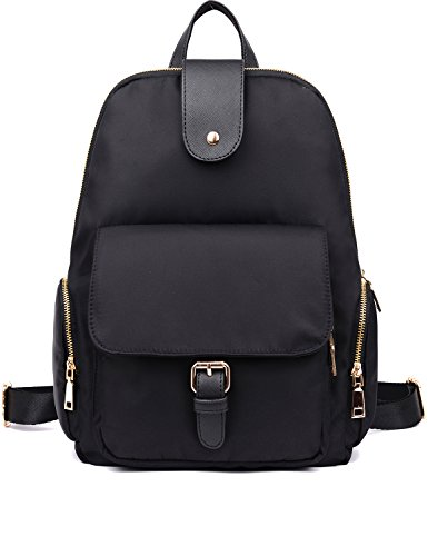 Luckysmile Small Women Backpack Purse Waterproof Nylon Casual Travel Daypack