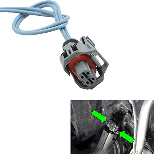Motoparty Coolant/Engine Oil/Intake Air Temperature Sensor 6.0L 6.4L Powerstroke Connector Pigtail For Ford F/E Series 2003-2010 2009 2008 2007 2006 2005 2004,Powerstroke Diesel Engines ()