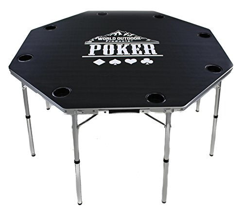 World Outdoor Products New Design PROFESSIONAL Multi-Purpose CARD PLAYING GAME TABLE for 2017. by World Outdoor Products