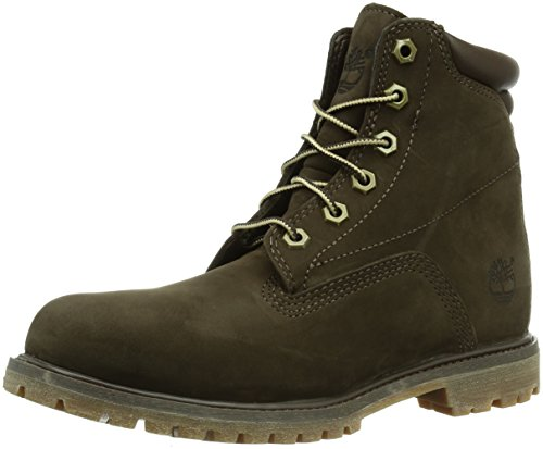 Timberland in Basic Donna Waterproof Brown Marrone 6 Waterville Stivali Dark r7PAxrqw