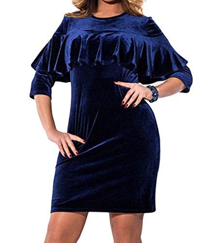 Velvet Gown Dress - 8