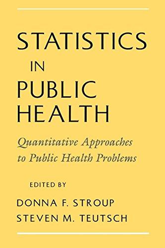 Statistics in Public Health: Quantitative Approaches to Public Health Problems