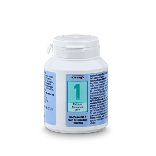 Schuessler Salz Nr. 1 Calcium fluoratum D12 - 400 Tabletten, glutenfrei