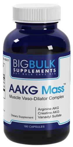 AAKG messe améliorer les performances de séance d'entraînement avec production d'oxyde nitrique et une vasodilatation Big vrac suplements Arginine AKG AKG Créatine 400mg 400mg 180 Capsules 1 Bouteille