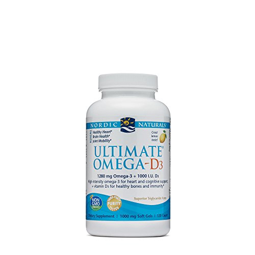 Naturals Omega Lemon Woman Nordic - Nordic Naturals - Ultimate Omega-D3, Supports Healthy Bones and Immunity, 120 Soft Gels (FFP)