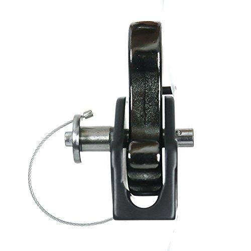 Fusion Climb Military Tactical Edition Puma Grab II 13 16mm Auto Lock Rope Pulley Black