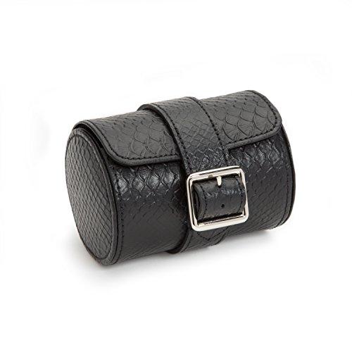 WOLF 462720 Exotic Single Watch Roll, Black