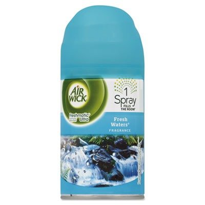 RECKITT BENCKISER PROFESSIONAL 79553EA FreshMatic Ultra Spray Refill, Fresh Waters, 6.17oz Aerosol