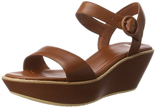 Camper Da Donna Damas 21923 Platform Pump Medium Brown