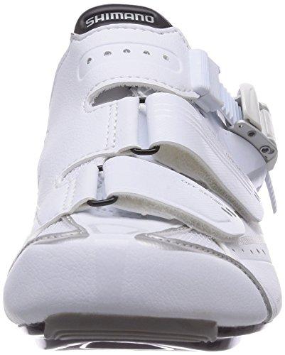 Ciclismo Blanco Unisex White de Zapatillas Adulto wr42 Sh Shimano wpqBOxS7x
