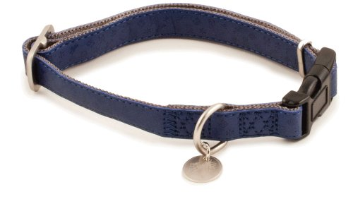 PetSafe Bark Avenue Quick Snap Dog Collar, Small, 3/4-Inch, Navy