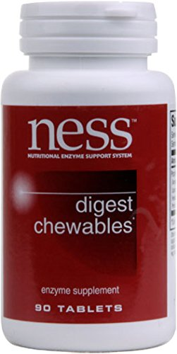 NESS Enzymes – Digest Chewables 90 Tablets Review