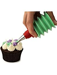 Get 1 Set 3pcs Icing Piping Bottles Nozzle Cake Cupcake Cookie Nozzle Decorating Sugar Tool saleoff