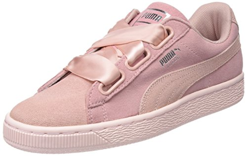 Heart Suede Peach Pebble Womens Pearl PUMA Sneakers 40wZ4