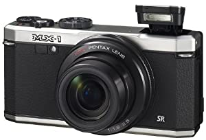 Pentax MX-1 black 12 Waterproof Digital Camera with 4x Optical Image Stabilized Zoom and 3-Inch LCD Screen from Pentax
