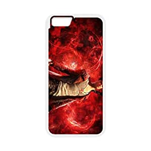 dmc devil may cry iPhone 6 Plus 5.5 Inch Cell Phone Case White 53Go-187424