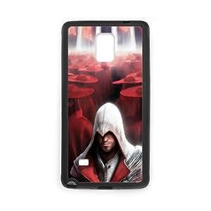 Assassins-Creed-Black-Flag Samsung Galaxy Note 4 Cell Phone Case Black Vgwql
