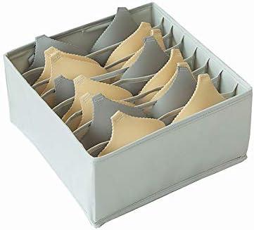 Fanuosu Organizador de Ropa Interior, Divisor de cajón, divisores de Armario Plegable y Caja de Almacenamiento Plegable para Ropa Interior, Sujetadores Calcetines de Corbata Personalizada Bufandas: Amazon.es: Hogar