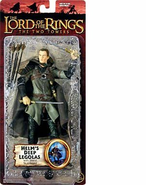 - The Lord of the Rings - The Two Towers - Helm's Deep Legolas with Shield Skateboard