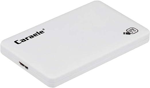 B Baosity 外付けHDD ポータブル ハードディスク 2TB/1TB/500GB 高速 USB 3.0 モバイルディスクドライブ 白色 - 2TB