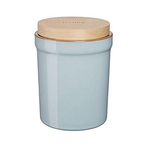 Denby Heritage Pavilion Storage Jar, Blue