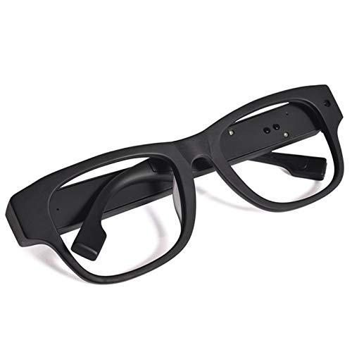 SODIAL Hd 1080P WiFi Camera Intelligent WiFi Live Glasses Wide Angle Support 64G Memory Smart Glasses Driving Video Resolution Eyewear Recorder