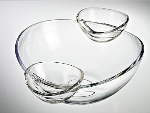 Show (Multi-function Servingware) Felli- Crystal clear acrylic serving bowl set. 12.5