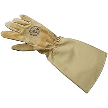 Amazon.com : Womanswork Rose Gauntlet Gloves with Canvas